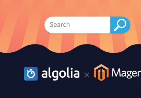 A legjobb prediktív kereső Magento webáruházakhoz: Algolia