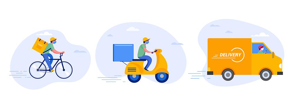 e-kereskedelem házhozszállítás