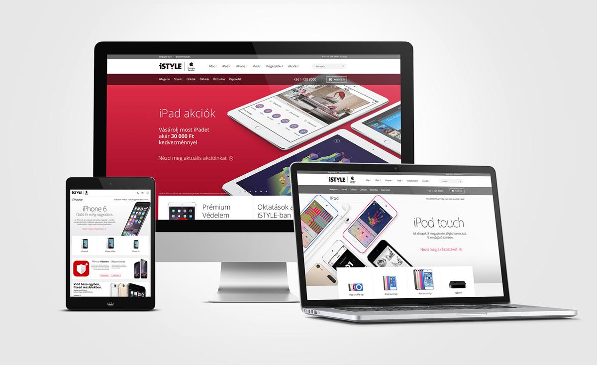 iSTYLE webáruház 2015