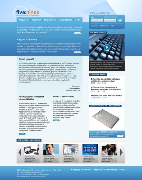Informatikai vállalati portál