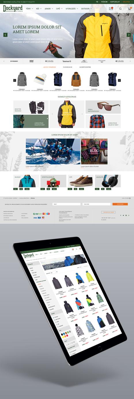 Dockyard webáruház