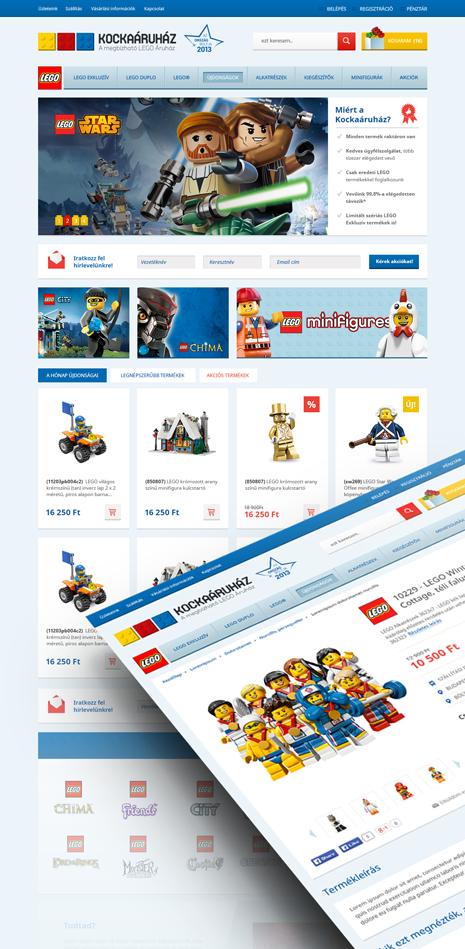 LEGO Kockaáruház