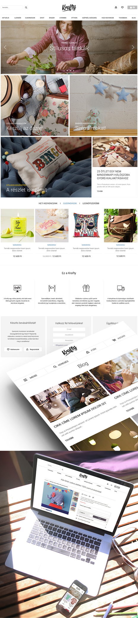 Krafty webáruház
