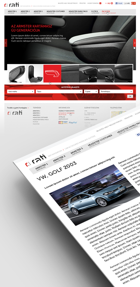 Rati webáruház