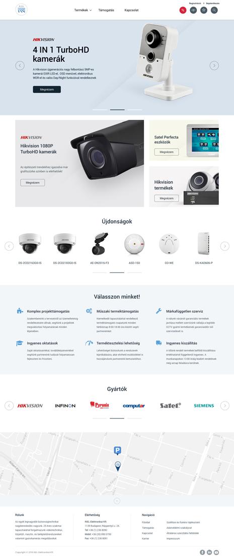 RIEL webáruház