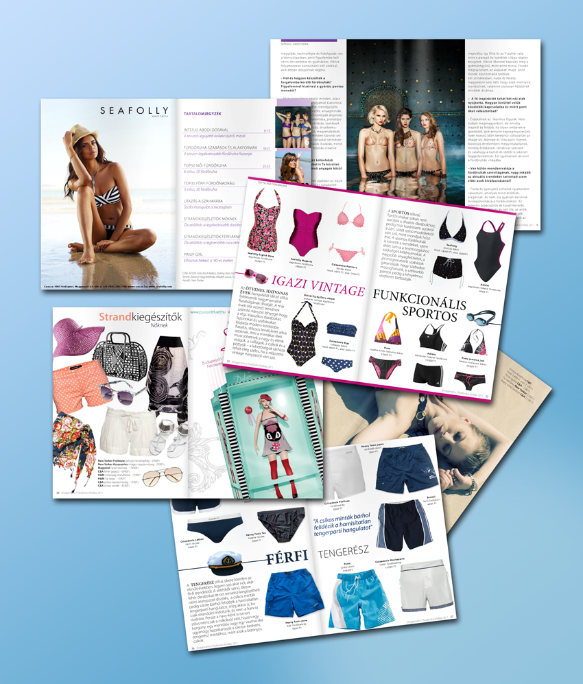 Digitális divatmagazin