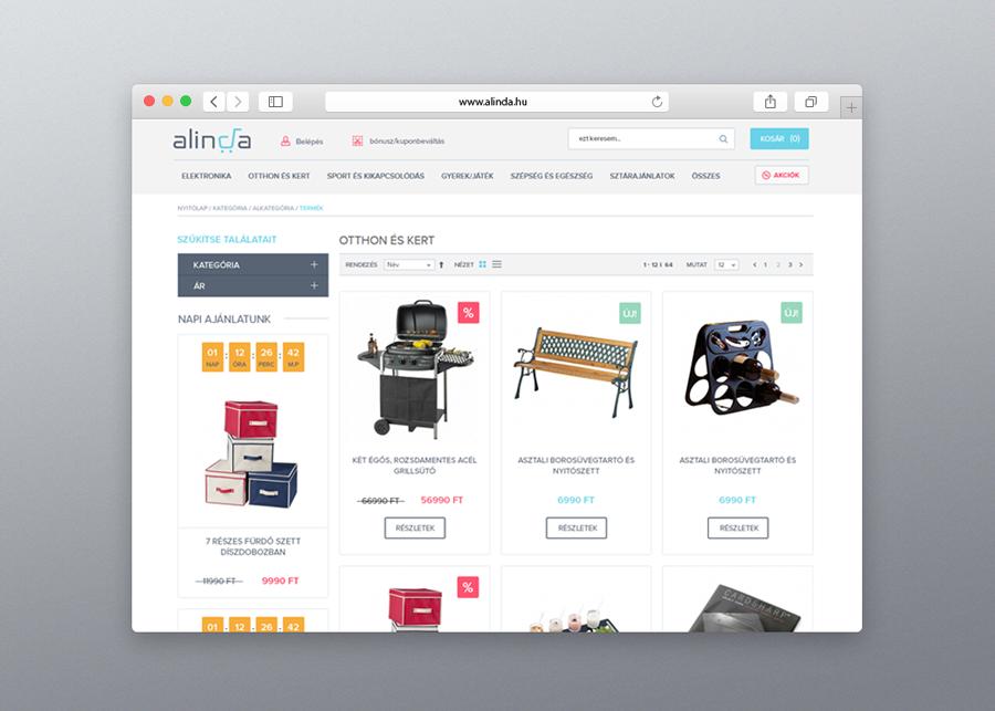 Alinda webshop
