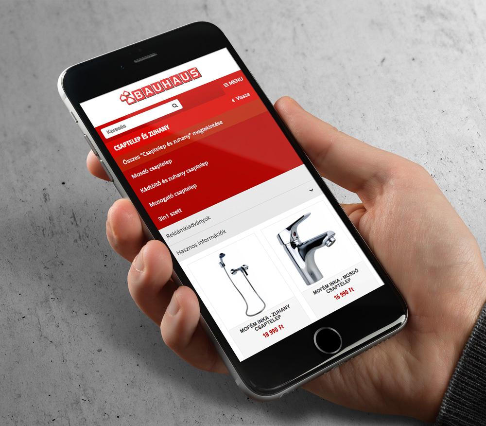 Bauhaus webáruház