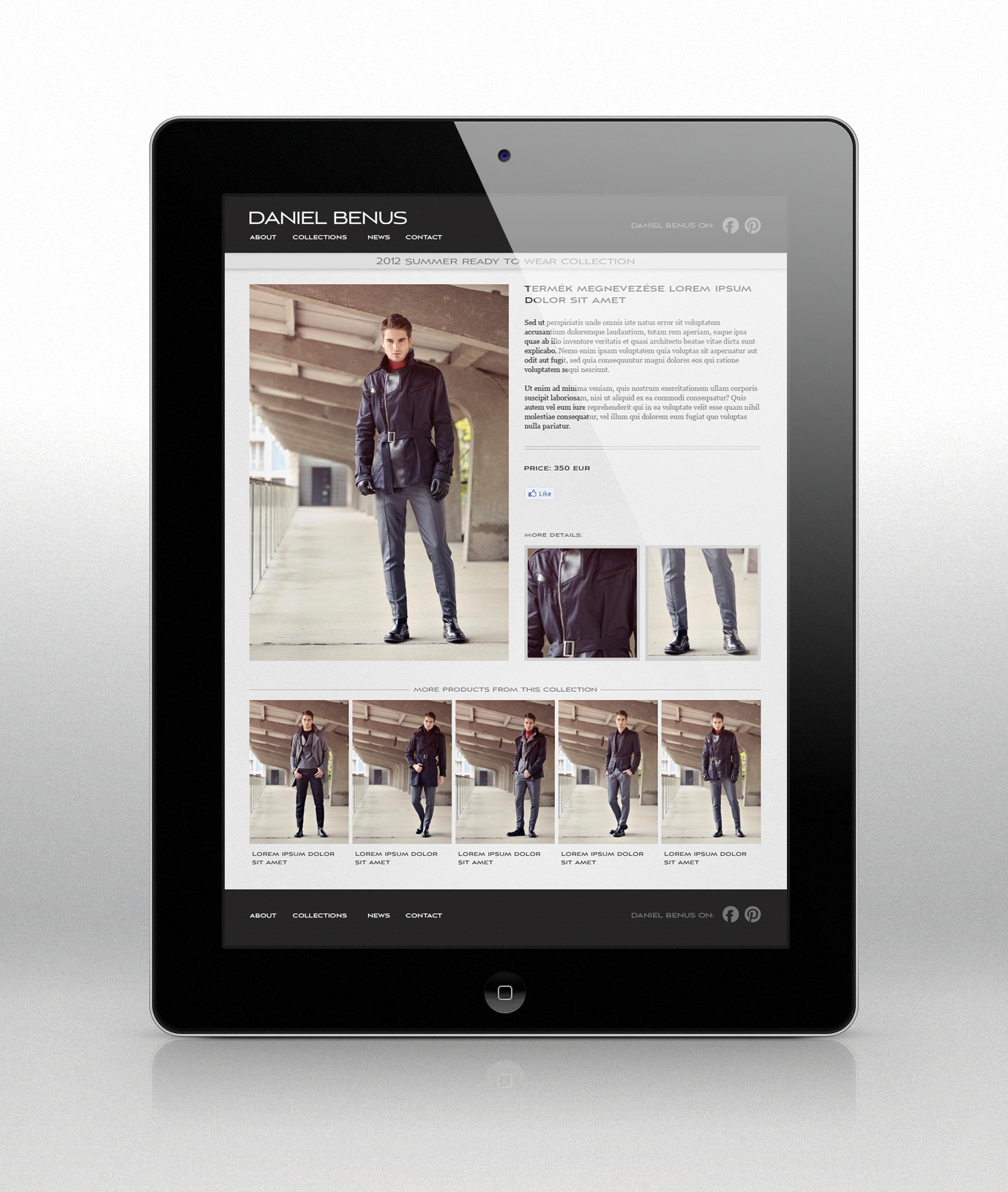 Daniel Benus website
