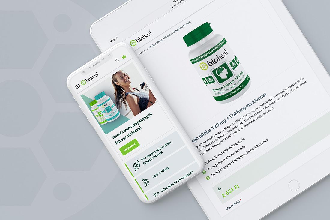 Bioheal webshop