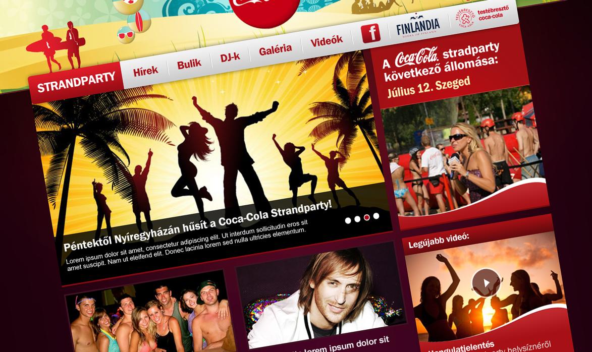 Coca-Cola design koncepció