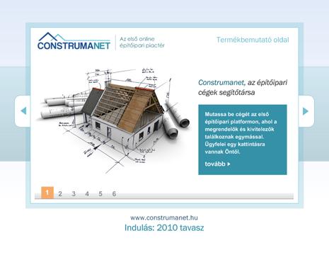 Construmanet B2B website