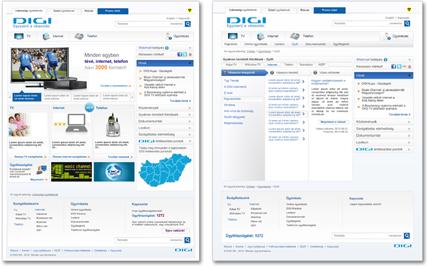 DIGI Magyarország vállalati portál