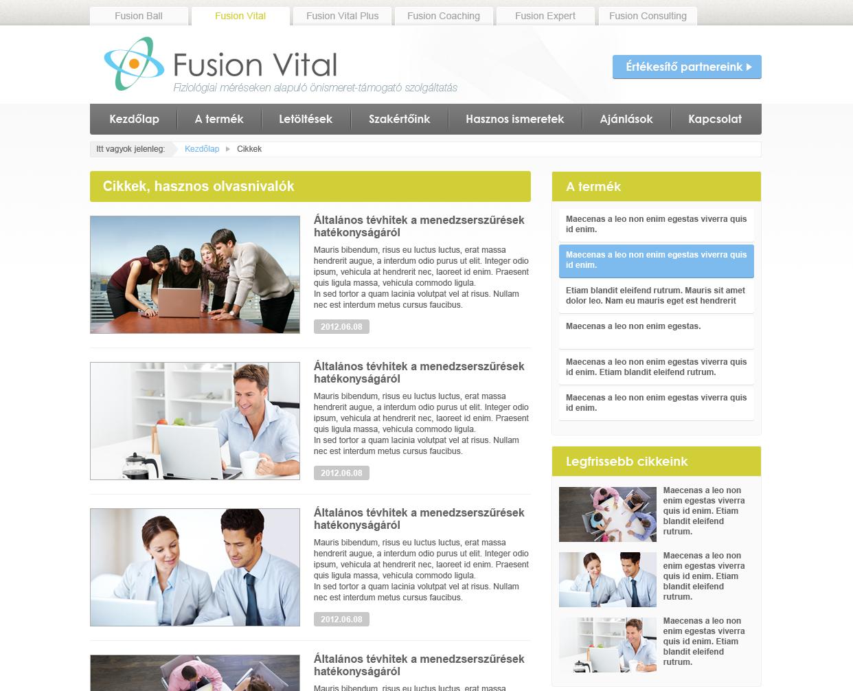 Fusion Vital