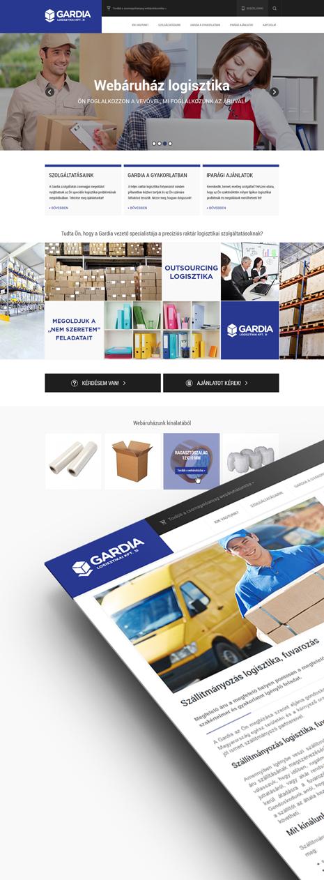 Gardia website