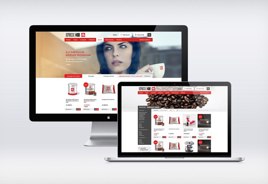 Illy webáruház