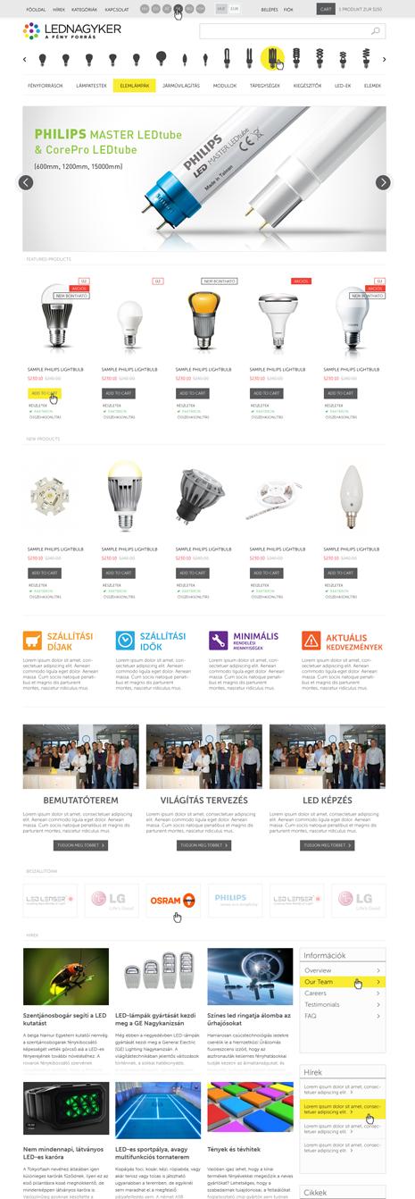 Lednagyker webáruház