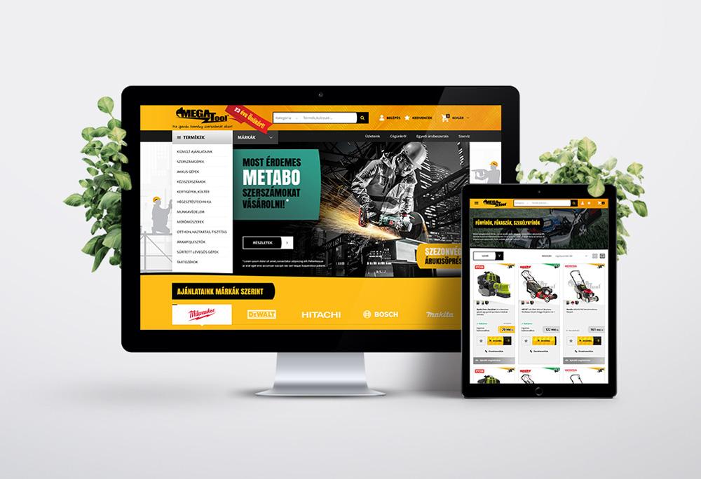 Megatool webáruház