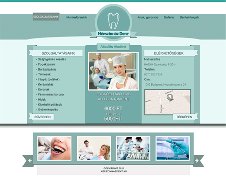 Fogorvosi website