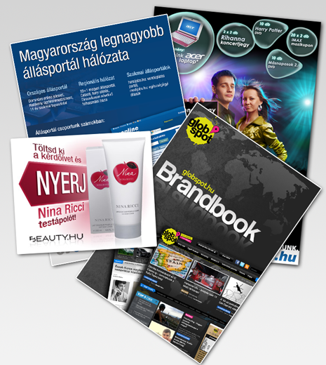 Online-offline reklámanyagok
