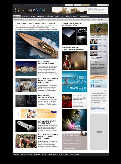 Online stílusmagazin