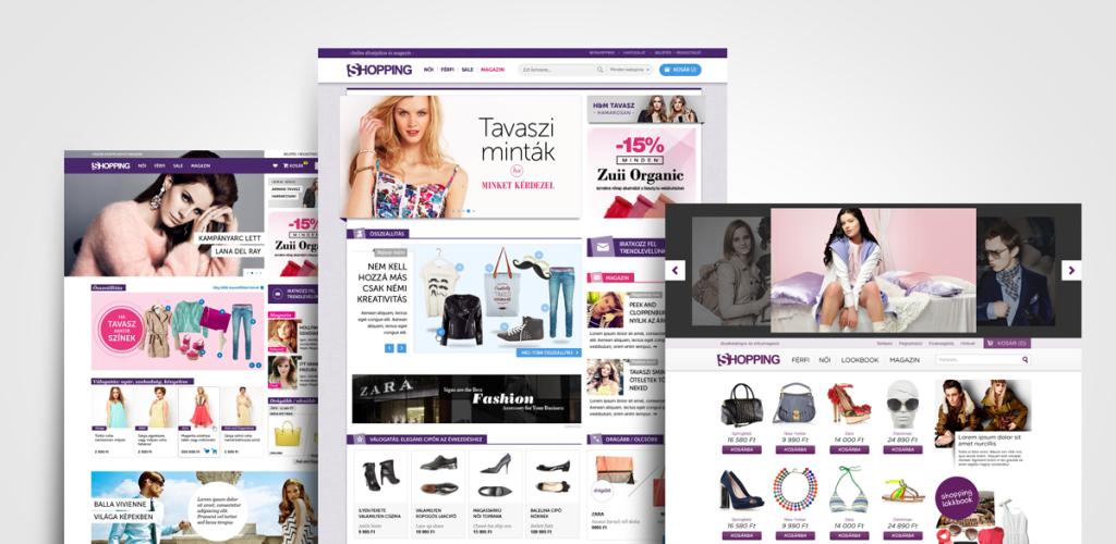 shopping.hu design tervek