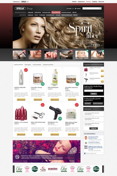 Stella webáruház