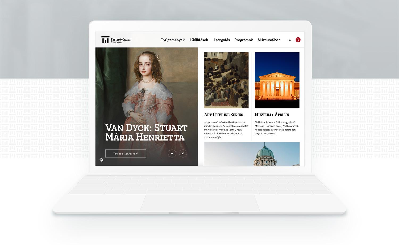 Szépművészeti laptop nézet