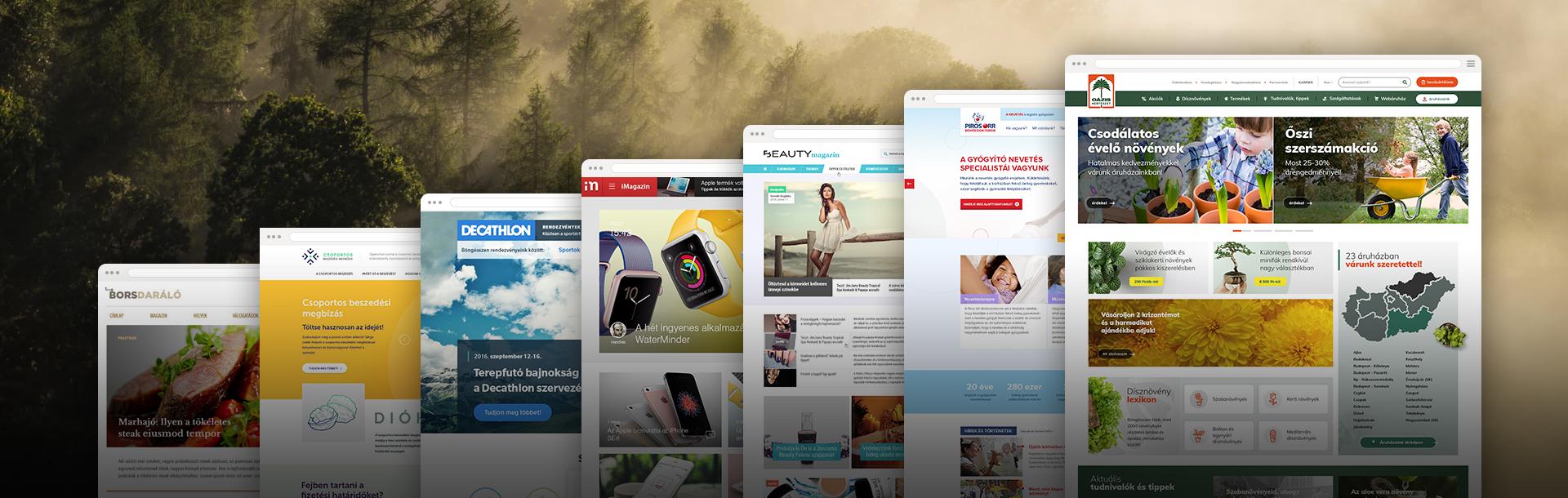 UX/UI tervezés, webdesign