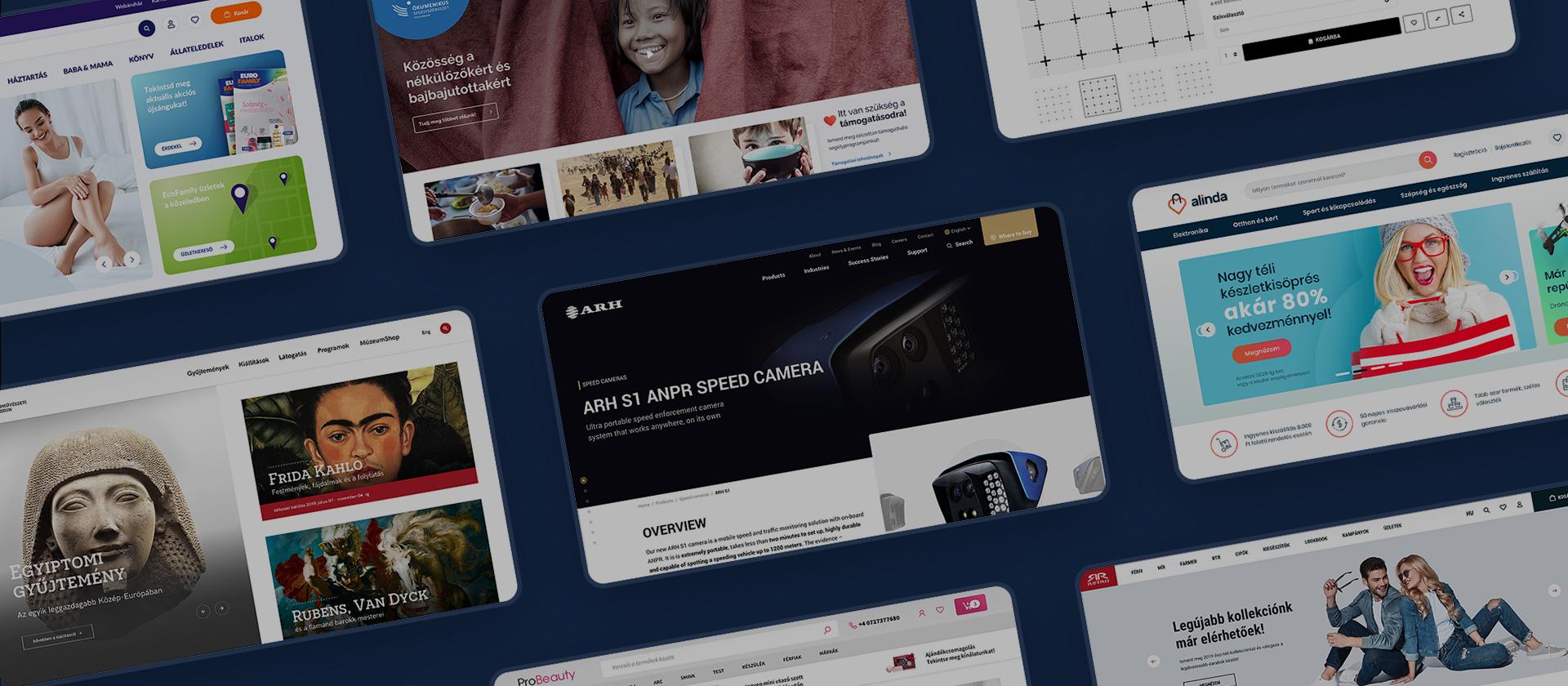 Oander.hu digitális termékek tervezése