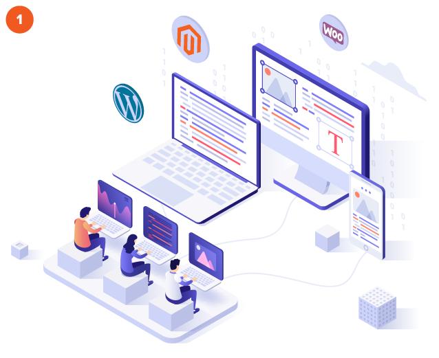 Magento, WooCommerce, WordPress fejlesztés